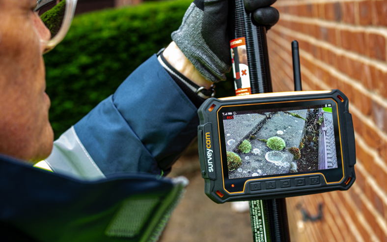 Gutter Inspection Camera systems