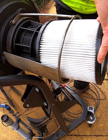 Gutter Vacuum Parts & Accessories