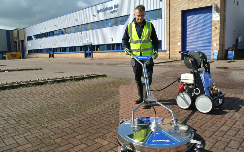 slipStream™ Pressure washer packages