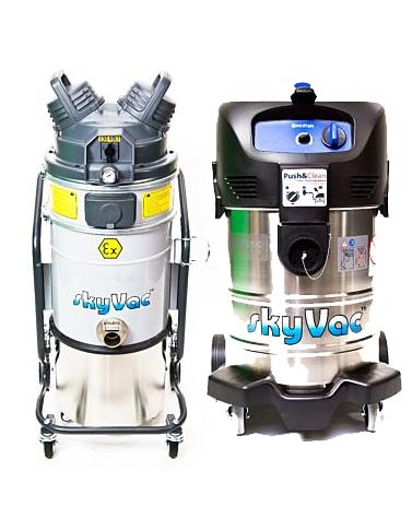 skyVac® Atex Industrial Vacuums