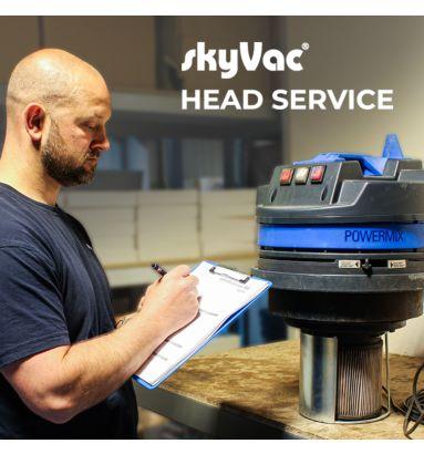 skyVac Gutter Vacuum Service