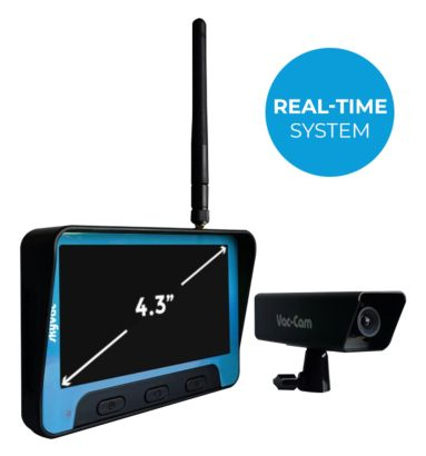 skyVac Real time non recordable camera system