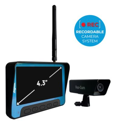skyVac Recordable Camera Inspection system for gutter, chimney and roofs