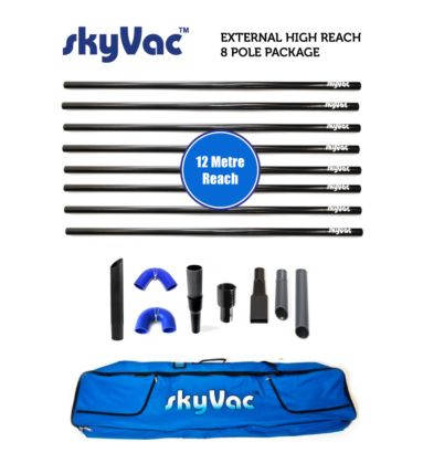 skyVac™ External Suction Pole Set