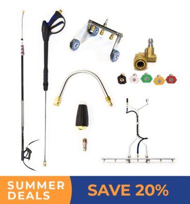 Pressure Washer Accessories Summer Deals