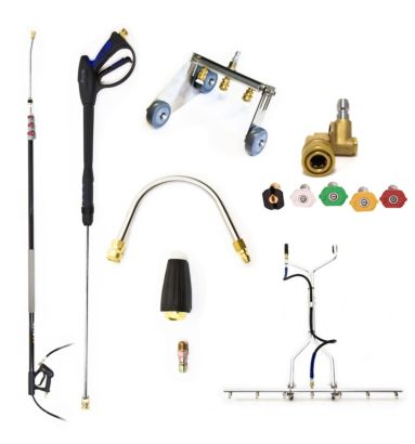 Gold Pressure Washer Accessory Pack