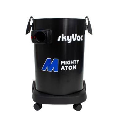 skyVac Mighty Atom cyclonic side entry port drum