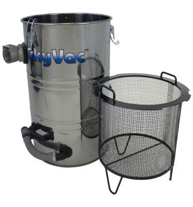 Industrial 85 Drum and sieve basket