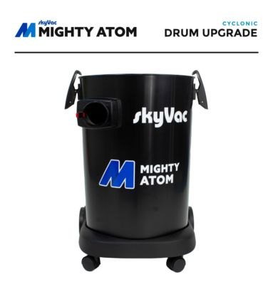 skyVac Mighty Atom Cyclonic Drum Upgrade