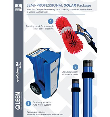 Qleen Semi Professional Solar Package