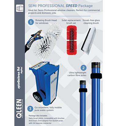 Qleen Semi Professional Speed Package