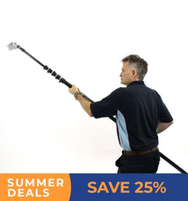 Save 25% on the skyscraper with 24ft pole in our summer deals