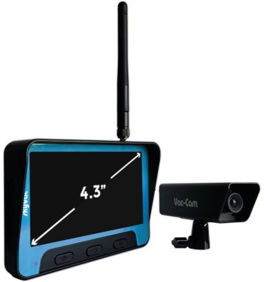 skyVac Real Time High Level Inspection Camera for gutter clearing