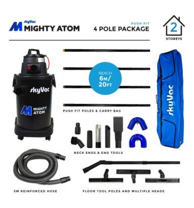 skyVac Mighty Atom 4 pole Package