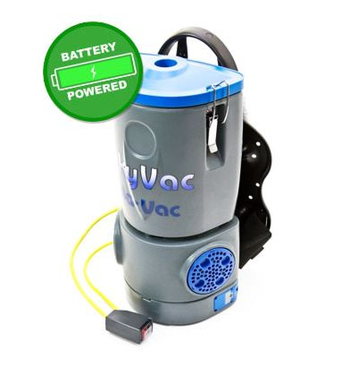 SkyVac™ BacVac - Battery Powered