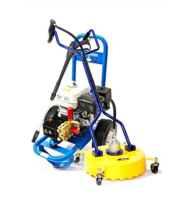 Honda Slipstream Pro 12 Pressure Washer with 18-inch surface cleaner