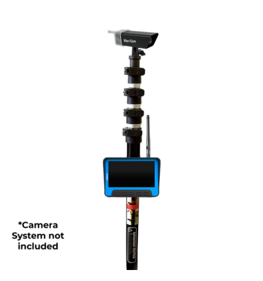 skyVac telescopic Pole with Live Action Camera