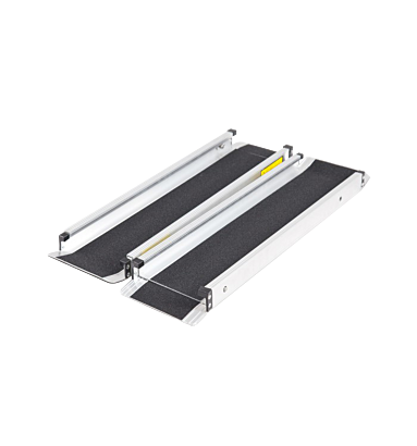 Spinaclean Telescopic Ramps with Black Grip Surface