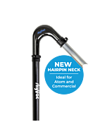 skyVac rigid neck kit with NEW Elite hairpin neck tool holder