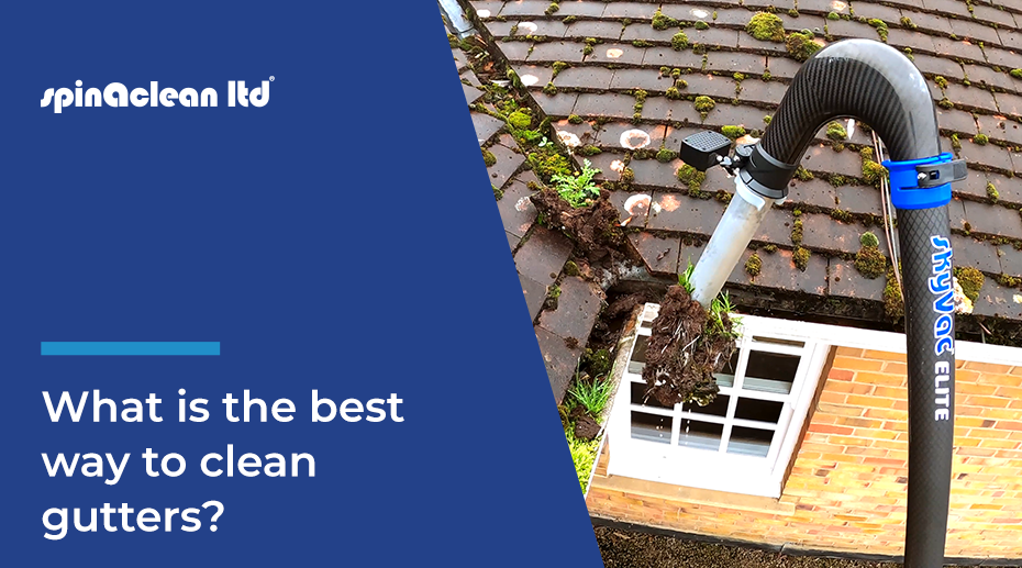 What is the best way to clean Gutters?