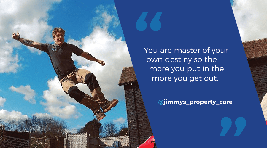 Jimmy's Property Care:  A Picture of Success