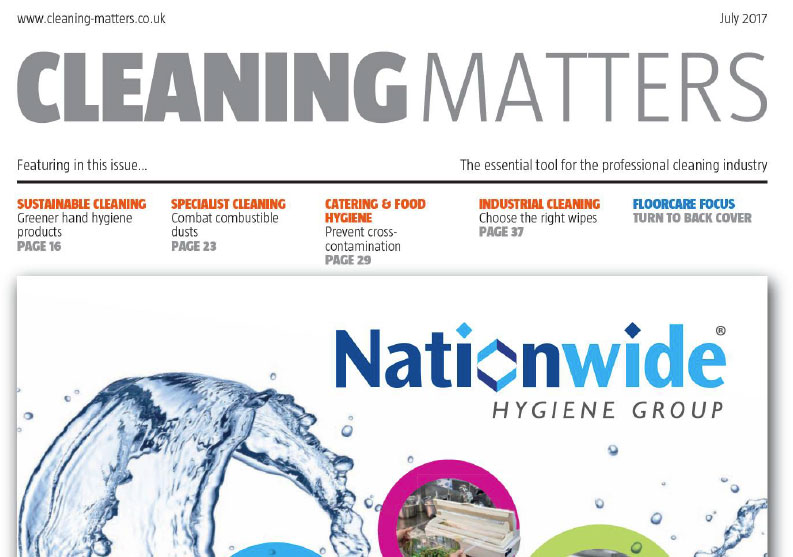 Spinaclean's ATEX specialist features in July's Cleaning Matters