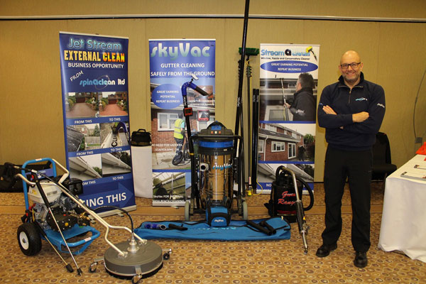 Spinaclean to hit the ground running at roadshow