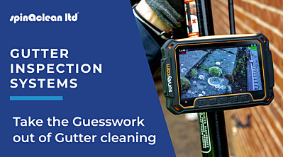 Gutter Inspection cameras: Make gutter cleaning easier