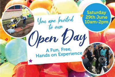 Spinaclean's Open Day
