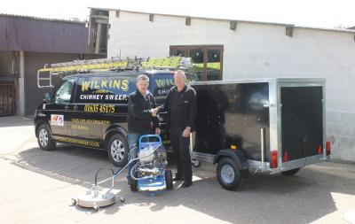 Wilkins Chimney Sweep expand with the help of Spinaclean
