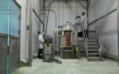 SkyVac Atex features in Milling and Grain magazine