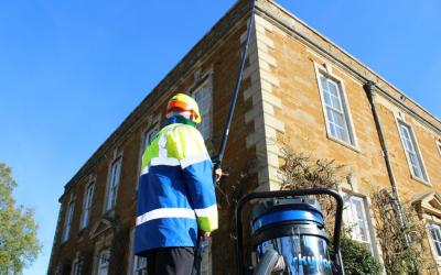 Spinaclean's MD Andy Whiting features in Tomorrow's Cleaning Magazine