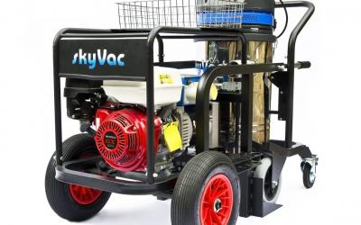 Spinaclean launches UK's first portable gutter cleaning system with On-board power unit
