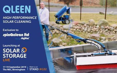 QLEEN: High Performance Solar and Window Cleaning