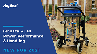 skyVac® Industrial 85:  New & Improved for 2021