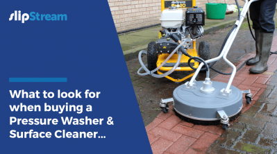 What to look for when buying a Pressure Washer & Surface Cleaner