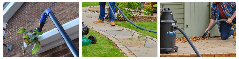 skyVac Atom gutter clearing vacuum for property owners
