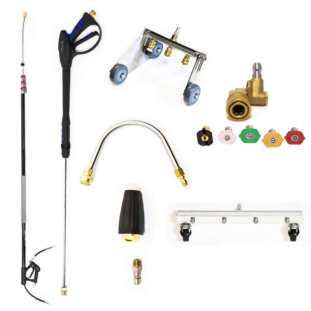 Silver Pressure Washer Accessory Pack