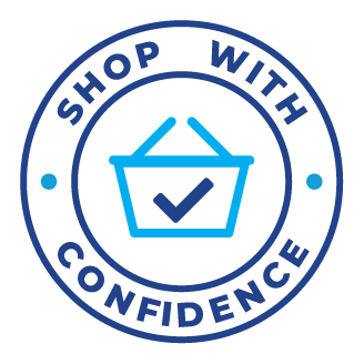 Find out more about our Shop with Confidence guarantee