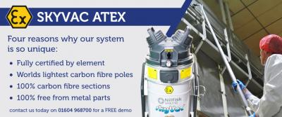 Kudos Blends review SkyVac ATEX in September's Milling & Grain