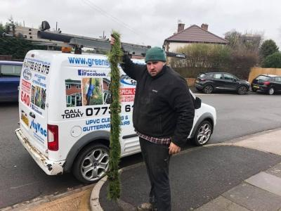 SkyVac Gutter Cleaning video goes viral
